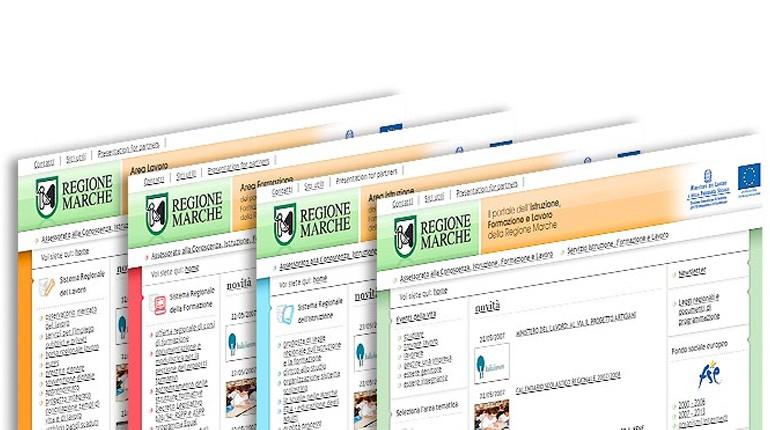 Il Gruppo Manservigi cura il web design del portale IFL – Regione Marche