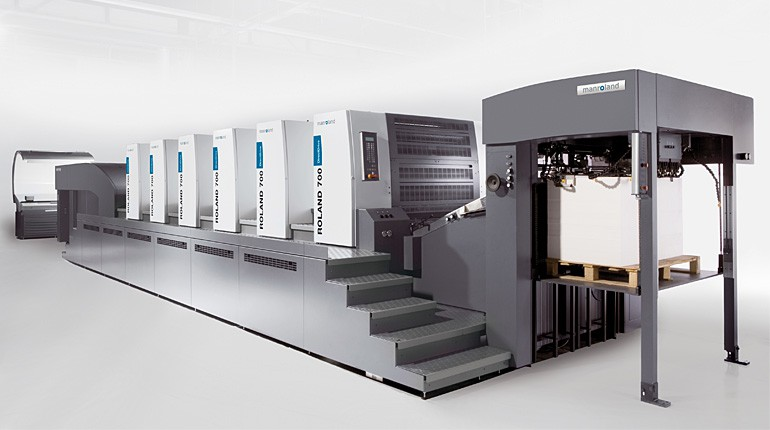 Orientamento alle alte prestazioni con la nuova macchina da stampa Roland Man R 705