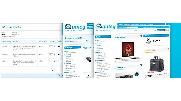 Online il restyling del website Anteg