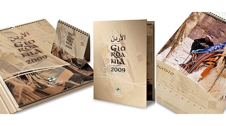 Stampata la seconda edizione del Calendalibro. Il 2009 è dedicato alla Giordania