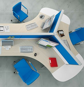 "Fotografie e rendering di ""space office"""