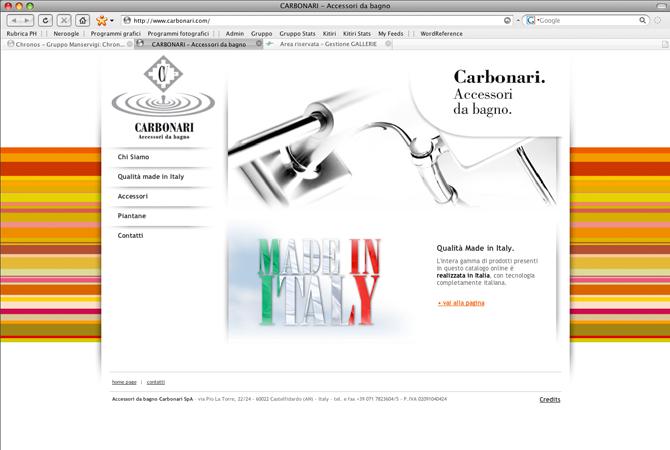 Accessori Da Bagno Carbonari.Sito Web Istituzionale Bbold Group